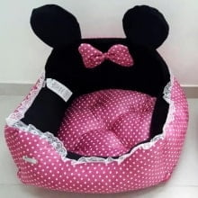 CAMA MINNIE DOG Rosa