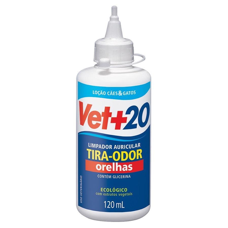TIRA ODOR DE ORELHAS VET + 20 120 ML