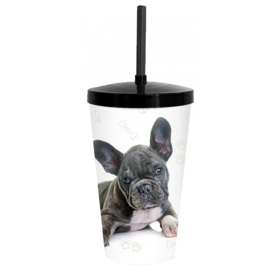 Copo Pet Bulldog Francês 600 ml