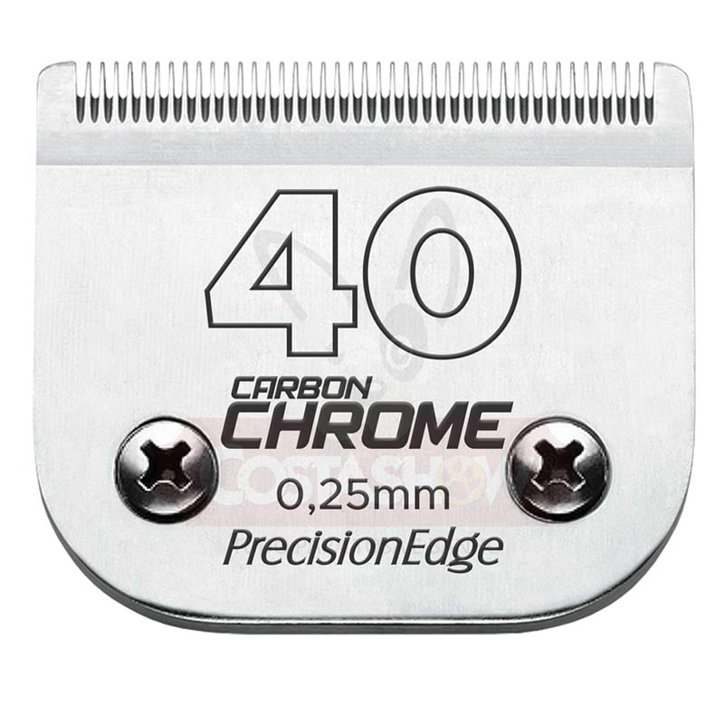 Lâmina #40 Carbon Chrome PrecisionEdge
