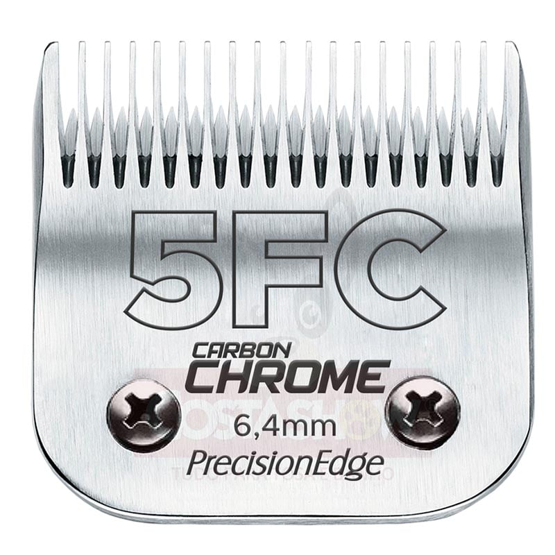 Lâmina #5FC Carbon Chrome PrecisionEdge