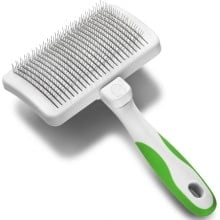 Rasqueadeira Autolimpante Andis Self Cleaning Slicker Brush