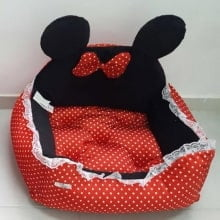 CAMA MINNIE DOG Vermelha