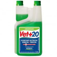 Desinfetante Bactericida Concentrado Vet+20 Herbal 1 L