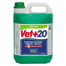 Desinfetante Bactericida Concentrado Vet+20 Herbal 5 L