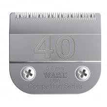 Lâmina #40 Competition Wahl prata