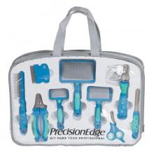 Kit para Tosa Profissional 9 pçs azul PrecisionEdge