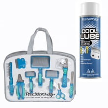 .Kit para Tosa Profissional + Cool Lube